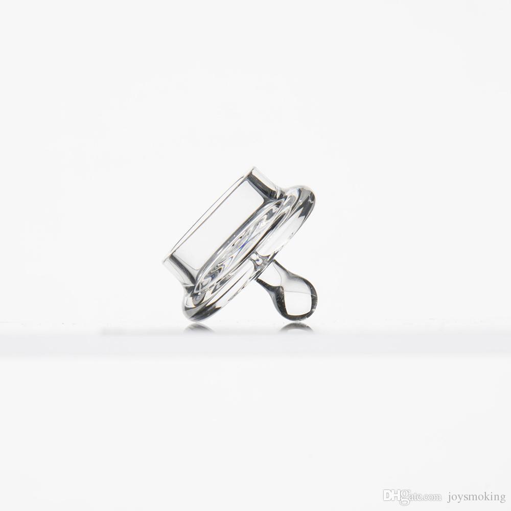 Quarz-Carb-Kappe für Quarz-Nagel-Quarz-Banger; neuartiger Entwurf gepasst für Schüssel des inneren Durchmessers 20mm