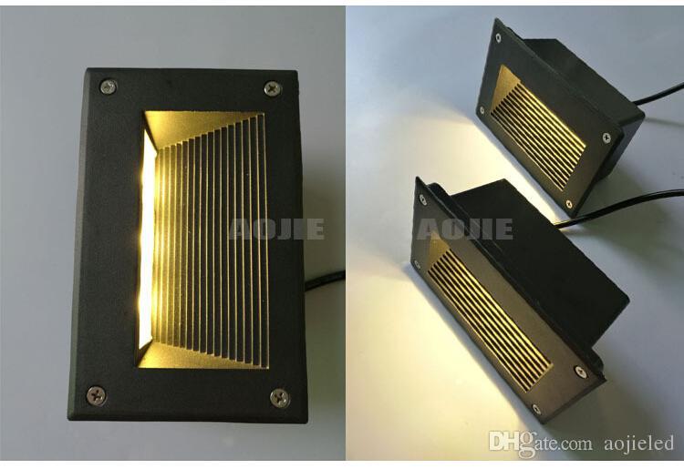 وافد جديد 9W LED تحت الأرض ضوء الصمام 3x3W LED في الهواء الطلق مصباح المصباح الكلمة الدافئة الأبيض الطبيعي أبيض بارد AC85-265V الأبيض