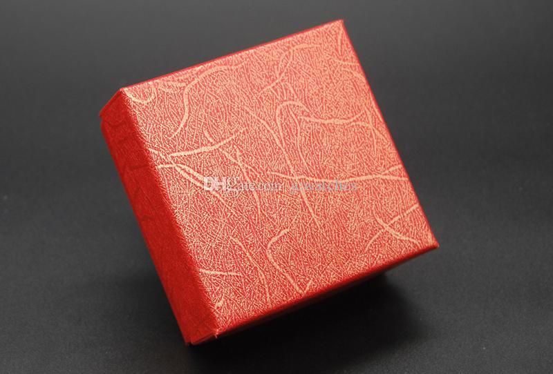 Contenitore di monili all'ingrosso Cases collana orecchino anello scatole regalo di Natale Esposizione di imballaggio gioielli fisso colore misto spedizione gratuita
