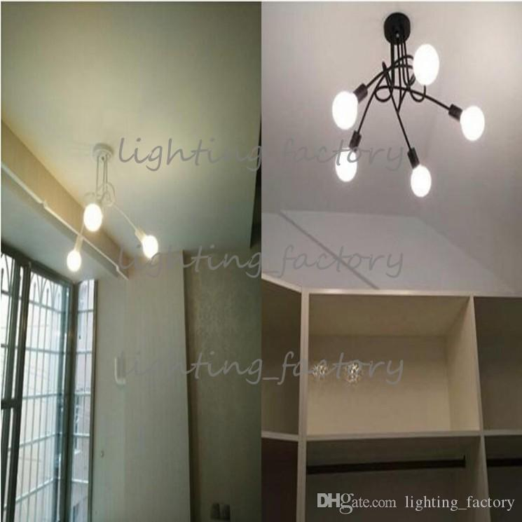 New design Ceiling chandelier fixtures Korean arts minimalist living room bedroom Nordic Light Ceiling 3arms 5arms LED morden pendant light