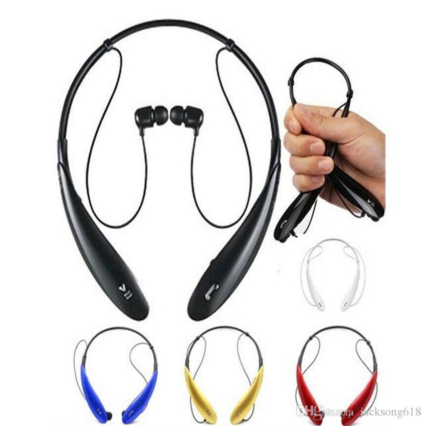 / HB800 헤드폰 무선 스테레오 헤드셋 HBS 800 스포츠 넥 밴드 이어폰 인 이어 패키지 소매 형 패키지