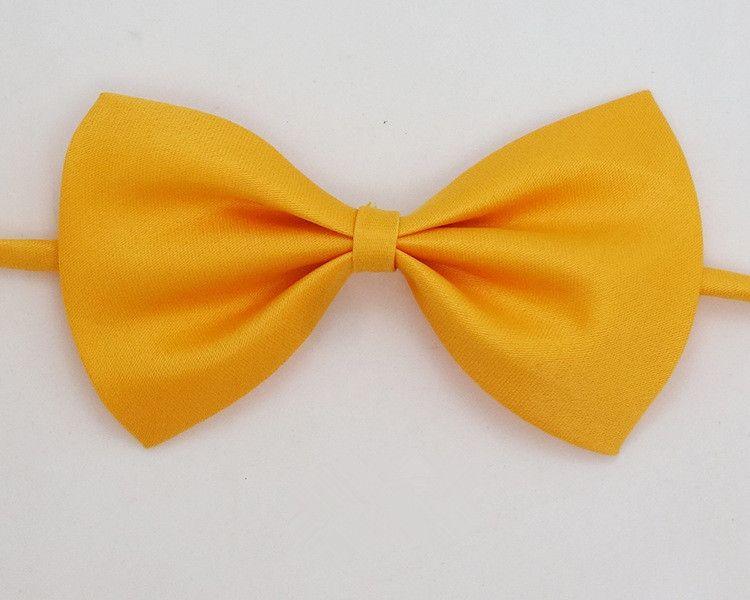 Nuevo color sólido de manera hermoso niños Pajarita fácil ocio es del bebé corbatas de accesorios niños IA941