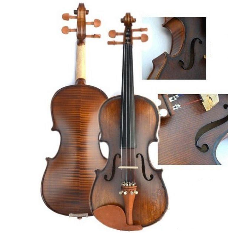 V303 Hohe qualität Fichte violine 3/4 handwerk violino Musikinstrumente geige bogen saiten