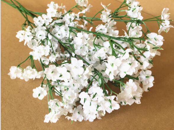Yeni Gelmesi Gypsophila bebeğin Nefes Yapay Sahte Ipek Çiçekler Bitki Ev Düğün Dekorasyon