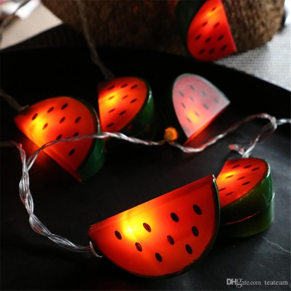 Watermelon battery led string light kids room decor lighting watermelon battery led string light kids room decor lighting christmas holiday outdoor lights 10204050100 led 1m3m4m5m10m fairy string lights light mozeypictures Images