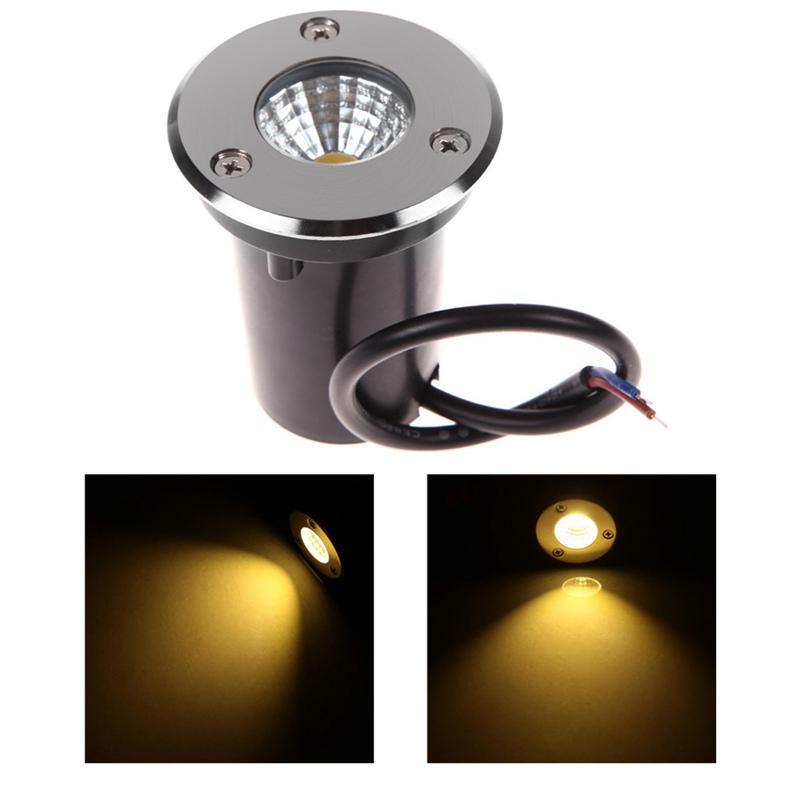 3w ac dc 12v cob buried lamp led underground lamp led inground light