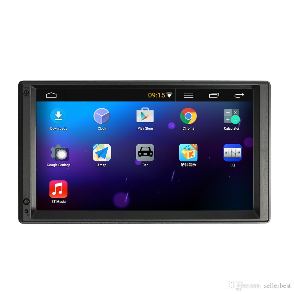Double 2 Din Android 5.1 Car Radio Player 7 '' Universal WIFI GPS Navigation Car Video Stereo audio MP5 Player HD Touch Screen car dvd
