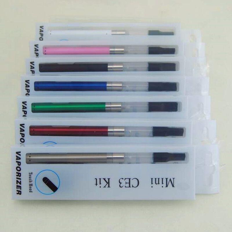2017 E çiğ Mini Tomurcuk Dokunmatik 280 mAH O Kalem CE3 O-Pen Kartuş buharlaştırıcı vape kalem ile Otomatik Pil vape kalem blister kiti
