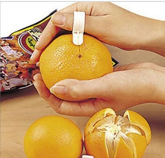Orange Peelers Zesters Device samll 4.8 * 4.3cm pratico Orange Stripper opener Frutta verdura strumenti di cottura spedizione gratuita