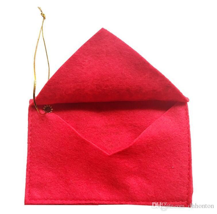 عيد الميلاد مغلف الحلوى أكياس الهدايا الإبداعية عيد الميلاد منتجات الديكور المال بطاقة عيد الميلاد حامل بطاقة مربع هدية FP04