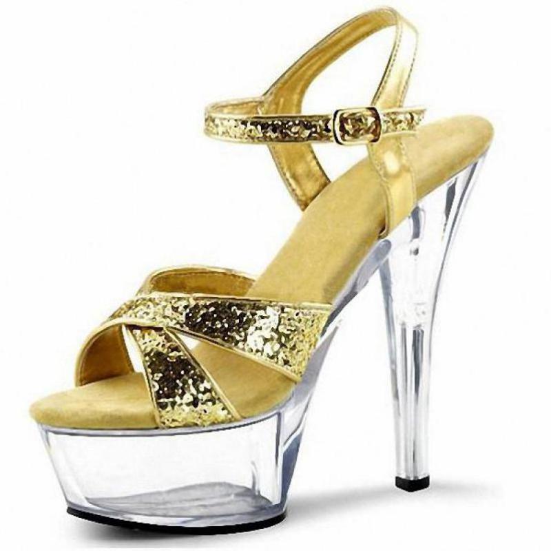 de5743573e82 Customize Summer Extreme High Heel 15cm Heel Platform Sandals Sexy ...