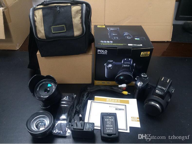 D7100 33MP FHD DSLR halb-professionelle Digitalkameras 24x Tele Weitwinkelobjektiv setzt 8X Digitalzoom Kameras Fokus