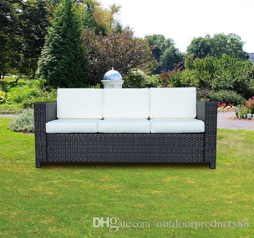 2018 Outdoor Rattan Garden 3 Seat Sofa,Outdoor Garden Patio ...