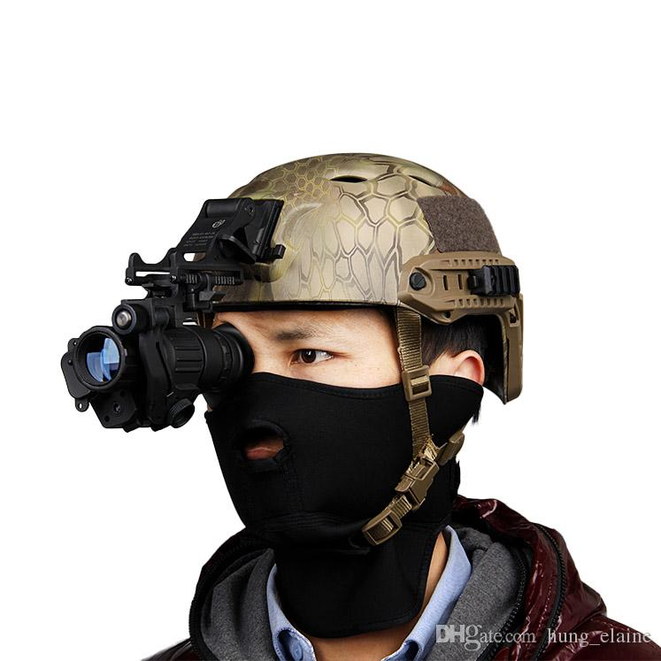 FAST Helmet MOUNT KIT Airsoft Tactical Army Night Vision Goggle Monocular Mount Accessori tattici Rhino NVG PVS-7 PVS14