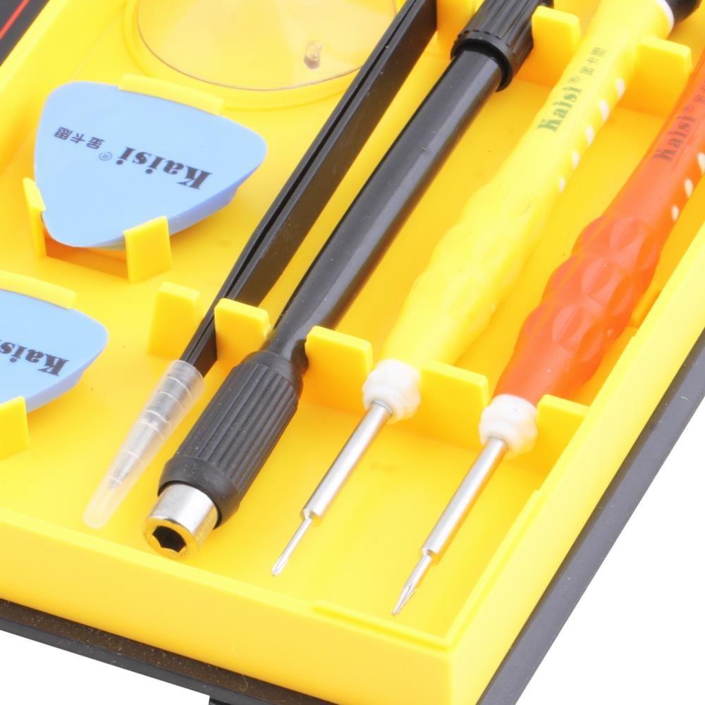 Kaisi 38 dans 1 jeu de tournevis polyvalent téléphone Réparation D'ouverture outil pour PC, Ordinateur Portable, Mobile Téléphone Outils Ensembles