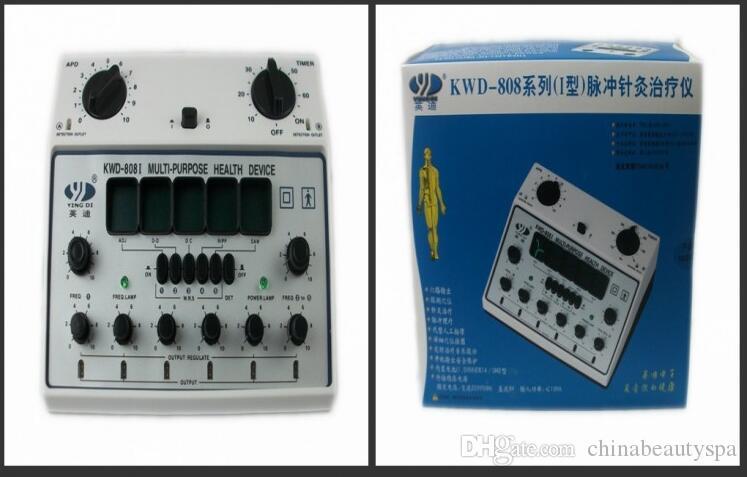 6 выходных каналов акупунктурная машина электрический массаж тела массажер KWD 808 I горячей продажи Бесплатная доставка
