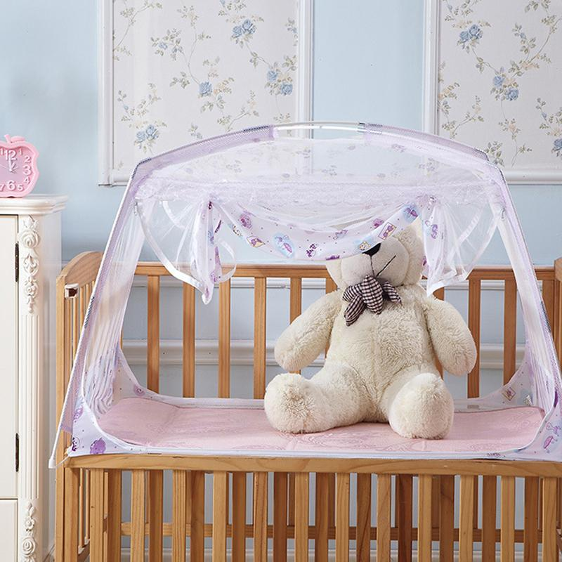 Wholesale- Baby Cot Mosquito Net Kids Bed Tent Canopy Cribs Baby Sleeping Tent Wigwam Baby Playpen Mosquito Net Canopy Luxury Folding Baby Playpen Mosquito ... & Wholesale- Baby Cot Mosquito Net Kids Bed Tent Canopy Cribs Baby ...