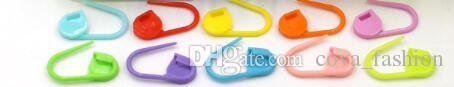 10 Farben Bunte Kunststoff Nadel Clip Haken Stricken Häkeln Locking Stich Marker Häkeln Latch Stricken Werkzeuge