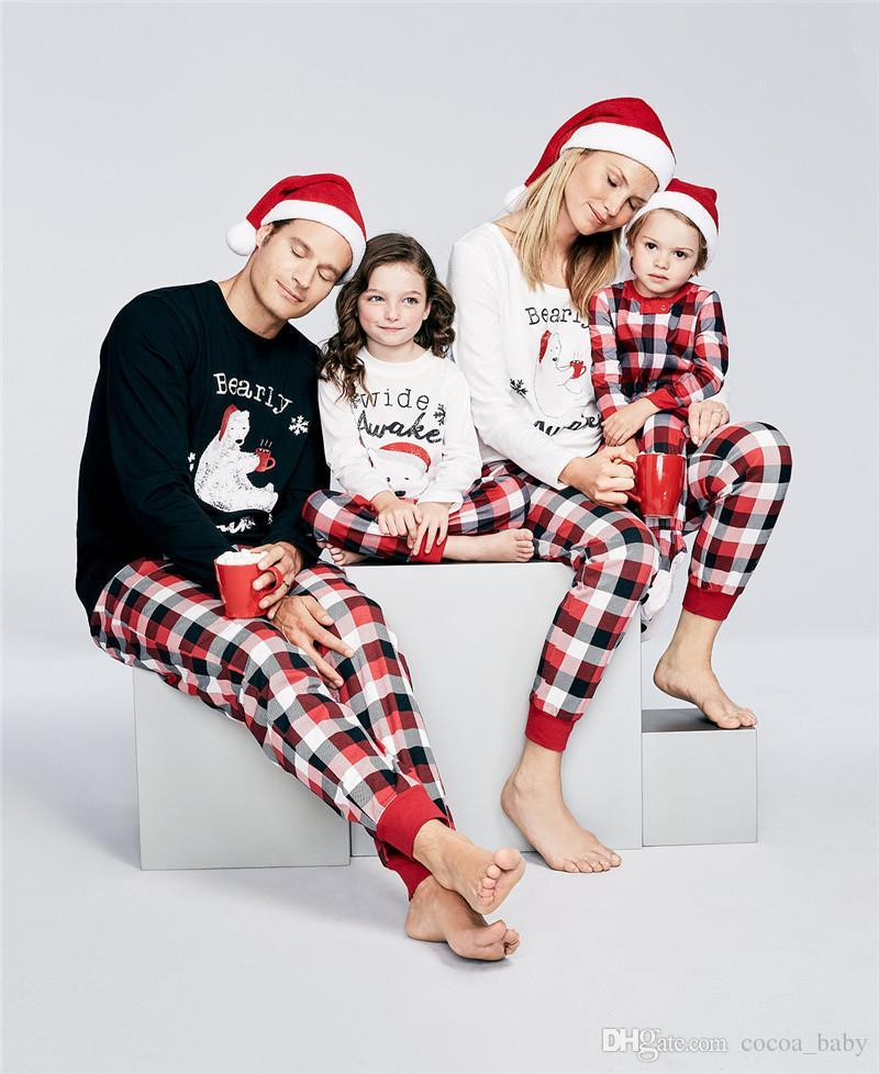 2018 New Year Family Matching Outfits Christmas Pajamas Family ...