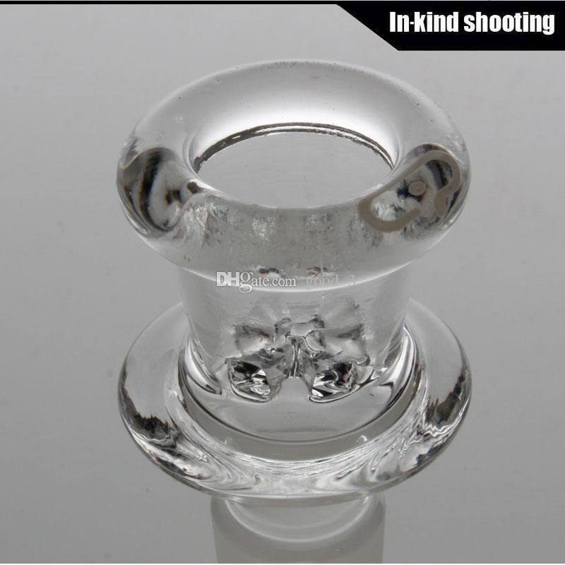 cam sigara kase 18.8mm 18mm eklem boyutu ücretsiz gönderim 14mm 14.4mm erkek eklem cam ile 2015 Yeni tasarım mobius cam kase