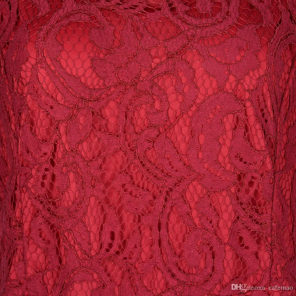 Женщины кружевное платье до 6XL плюс размер платья с коротким рукавом длина пола o