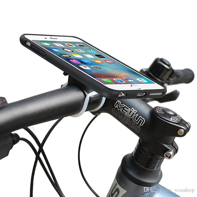 Bike Phone Mount Universal Bicycle Motorcycle Handlebar Mount Holder Cradle for iphone 7 / 7 Plus for Samsung Galaxy Note 7 S7 Edge S6