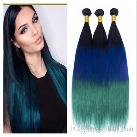 1b blue teal ombre brazilian hair weave dark roots three tone 1b blue teal ombre brazilian hair weave dark roots three tone colored human hair extensions straight virgin ombre hair bundles weft extension extension pmusecretfo Image collections