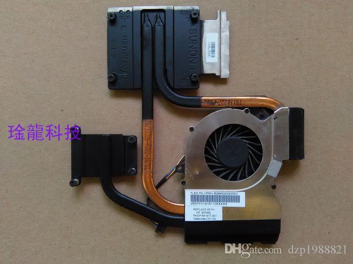 641477-001 cooler for HP pavilion DV6-6000 DV6 laptop cooling heatsink with fan radiator
