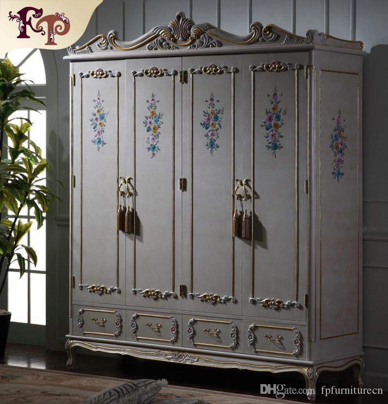 2018 Antique Classic Furniture Baroque Bed Italian Bedroom Furniture Luxury  Hand Carved Wardrboe From Fpfurniturecn, $2101.51 | DHgate.Com - 2018 Antique Classic Furniture Baroque Bed Italian Bedroom Furniture