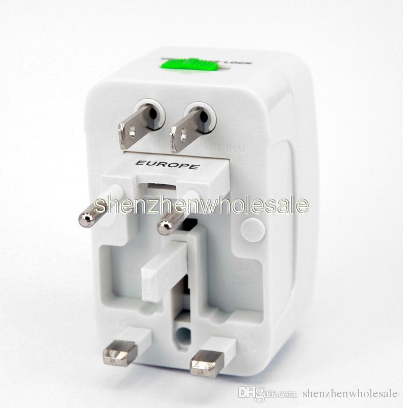 Viagem adaptador de alimentação carregador de parede universal para plug Surge Protector Universal International Travel Power Adapter Plug US UK UE AU Plug AC