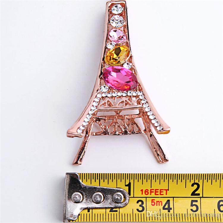 Torre Eiffel Torre Llavero Para Llaves Recuerdos Tour por París Eiffel Llavero Cristalino Llavero Llavero Decoración Llavero