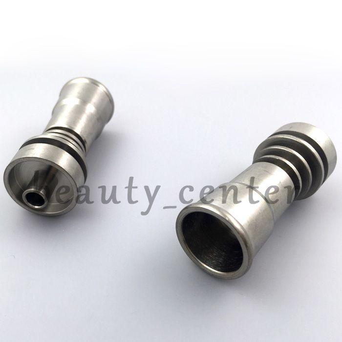10 / 14mm 14 / 18mm titanium prego feminino gr2 pregos de titânio para plataformas de petróleo de vidro tubos de água de vidro bongs