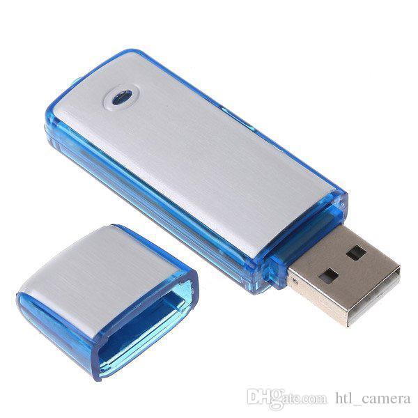 Gravador de Voz de Áudio de alta Qualidade USB Flash Drive 4 GB 8 GB Bug 2em1 combinação VOS gravador de Voz Digital China post