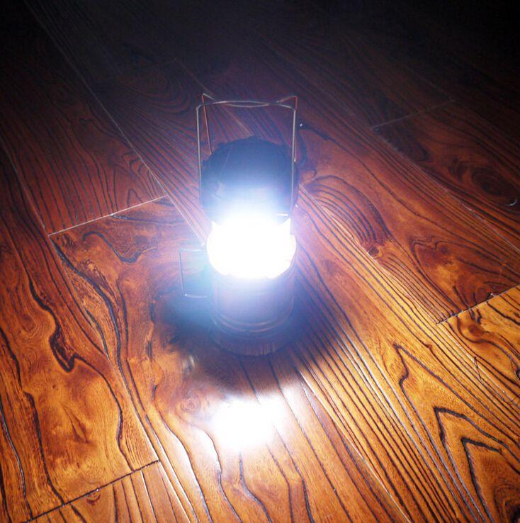 새로운 옥외 접을 수있는 태양 손전등 야영 손전등 손전등 휴대용 태양 램프 천막 빛 USB 재충전 용 비상 사태 빛