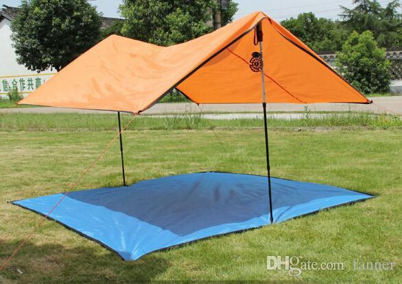 Wholesale Outdoor C&ing Tent 2 Person Tarp Sun Beach Tent Light Waterproof Tarp Gazebo Party Tents C&ing Family Screen Tents Outwell Tents From Fanner ... & Wholesale Outdoor Camping Tent 2 Person Tarp Sun Beach Tent Light ...