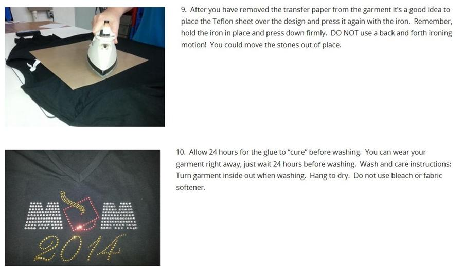 bling rhinestone iron on transfer Christmas cat for t-shirts DIY DH0185#