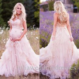Maternity Lace Wedding Dresses 2016 Sweetheart Bridal Ball Gowns Ruffles Pregnant Dress With Flowers Plus Size Bridal Gowns QC144