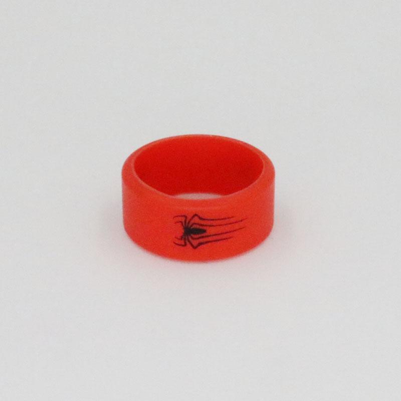 Vape Bande Décoration Anneau De Protection En Silicone Antidérapant Bande De Caoutchouc Pour ECig Vapor Spiderman Vape bande