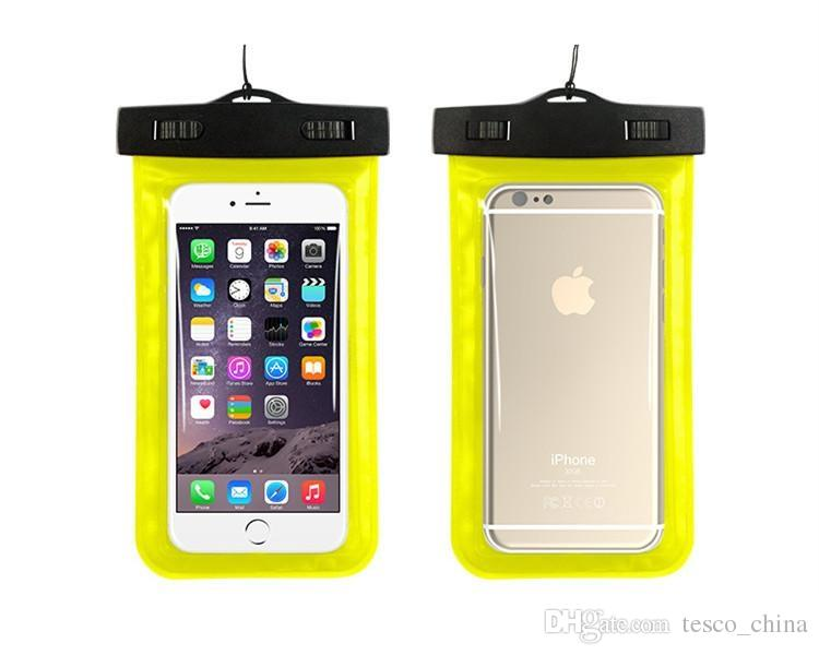 Universal For iphone 8 7 6 6s plus samsung S9 S7 Waterproof Case bag Cell Phone Water Resistant Dry Bag for smart phone