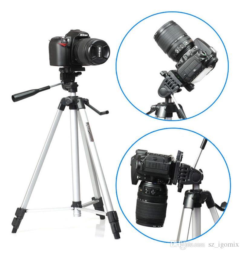 Weifeng WT-330A Trépied Professionnel Trépied En Aluminium Pour Canon Nikon Sony DSLR Caméra Vidéo