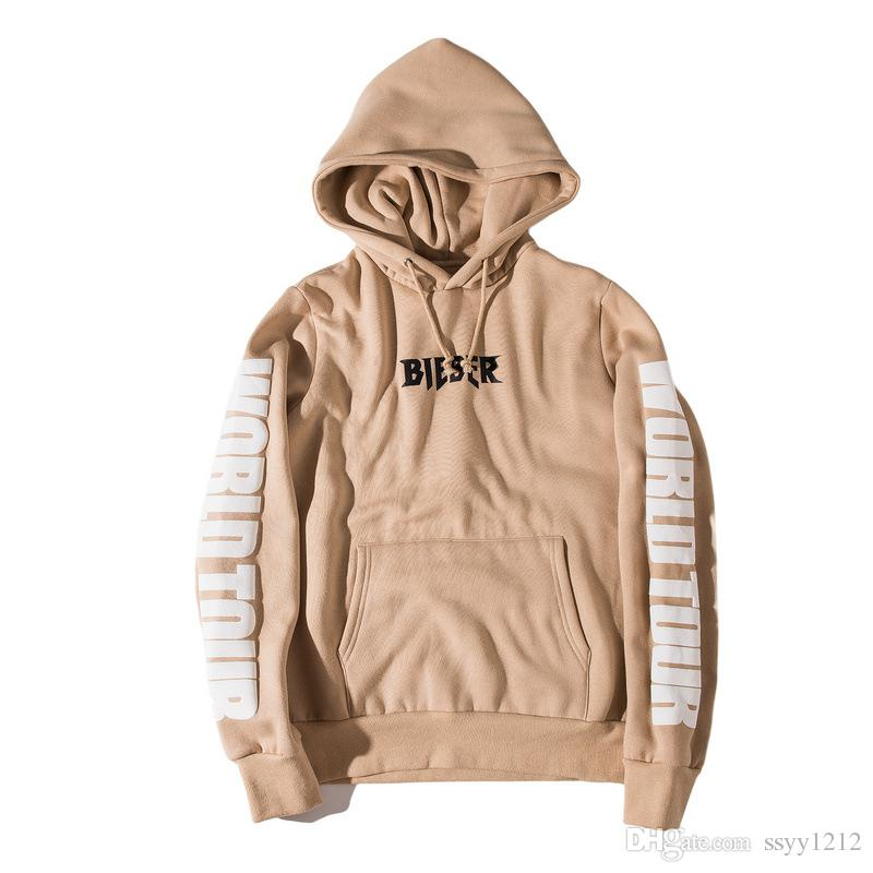 2018 purpose tour men hoodies sweatshirts light tan sport. Black Bedroom Furniture Sets. Home Design Ideas