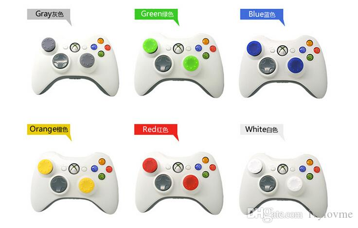 / Soft Skid-Proof Silicone Thumbsticks Cap Thumb Stick Caps Joystick Covers Grips Cover PS3 / PS4 / Xbox One / Xbox 360 Controller