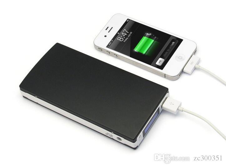 Energien-Bank-20000mAh Portable USB Mobil POWER externen Backup-Batterie-Ladegerät Notfall-Power Pack für iPhone Samsung