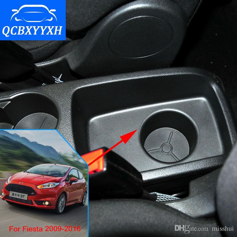 Новое обновление 8-й для Ford Fiesta 2009-2016 подлокотник коробка ручной переключатель передач центр хранения коробка 3 цвета аксессуары для автомобилей стайлинг