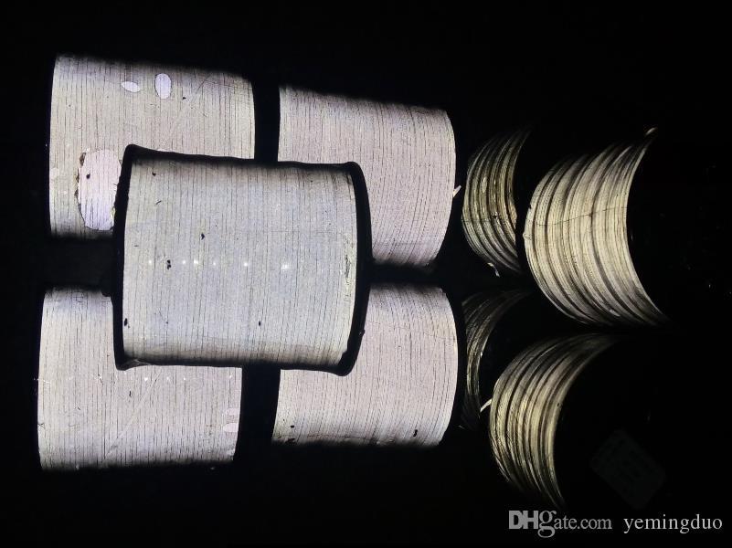 0,5 mm, 1,0 mm, 2,0 mm wysokiej widoczności gwint odblaskowy o wysokiej jasności jasności jednej strony / dwie strony odblaskowe odblaskowe pojęcia do szycia