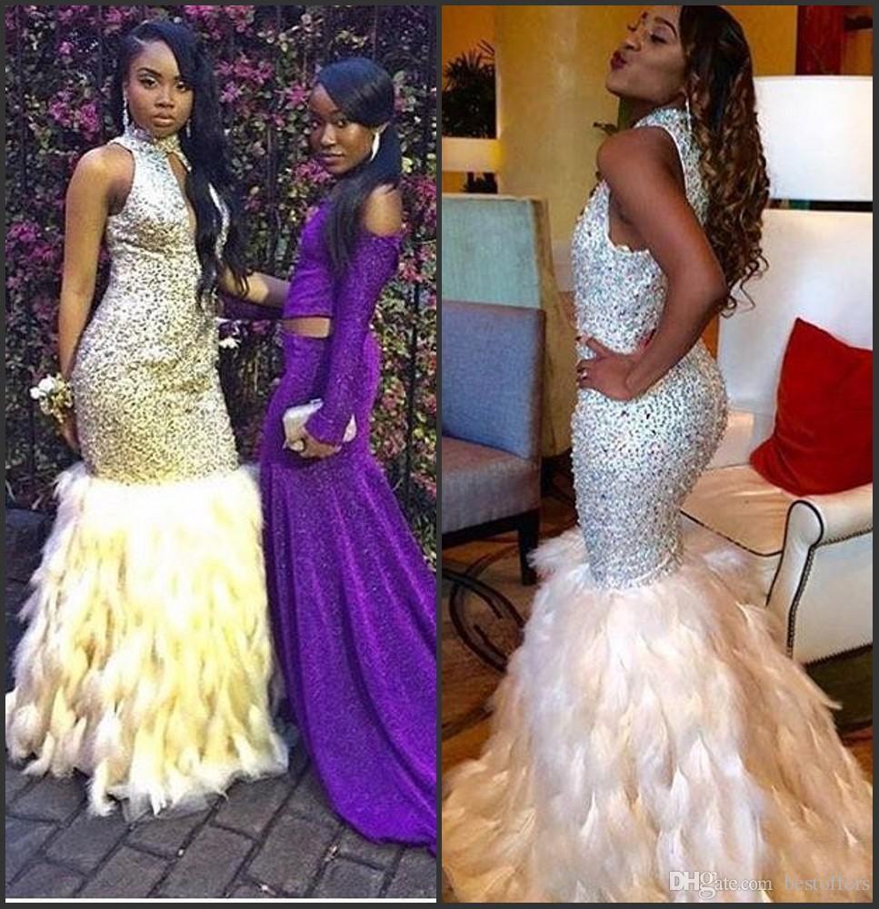 Rhinestone prom dresses cheap