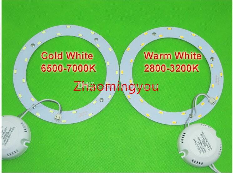6W 12W 15W 18W 24W 33W LED PANNELLO dell'anello del cerchio di luce 220V SMD 5730 LED rotonda bordo del soffitto del consiglio lampada circolare sala da pranzo