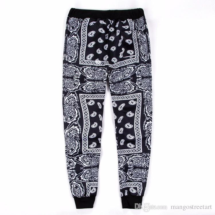 f6e0dc53856 Fashion Hip Hop 3D Print Jogger Pants Trousers Outdoor Sweatpants ...