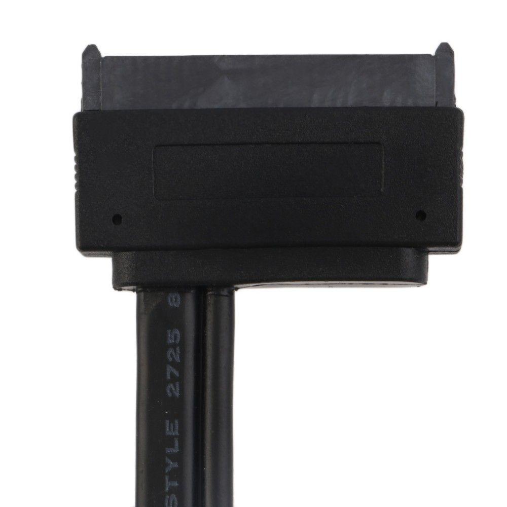 0,5 M 50CM Disco rigido da 2.5 pollici SATA 22Pin 22 pin da 22P a dati eSATA + Cavo USB alimentato SSD HDD