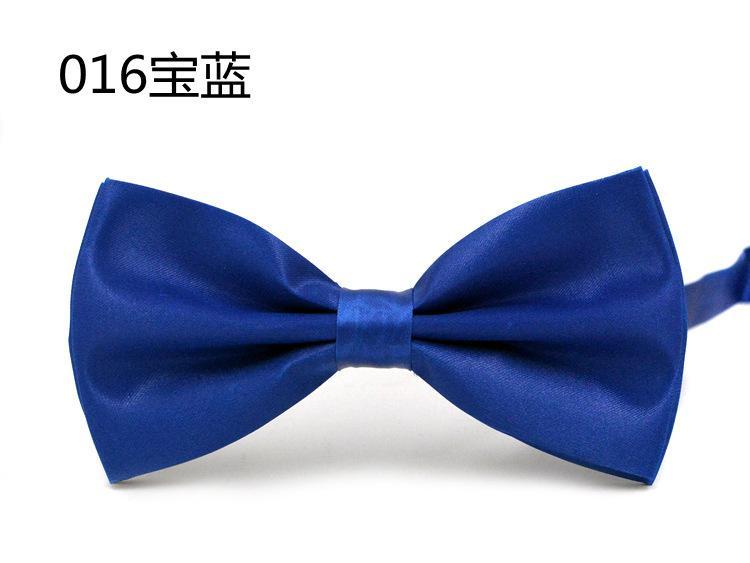 Gravata borboleta dos homens 25 cores 12 * 6 cm Ajustar a fivela cor sólida bowknot Bowtie Ocupacional para o Dia dos Pais gravata Presente de Natal
